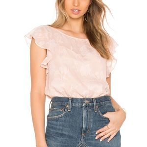 NWT CUPCAKES & CASHMERE Blush Pink Top Size XS